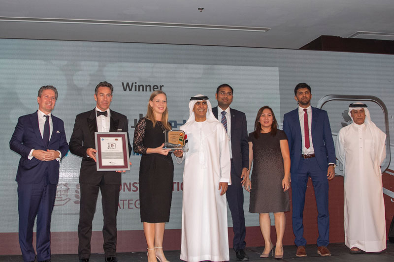 Al Futtaim Carillion (Construction Sector) Winner