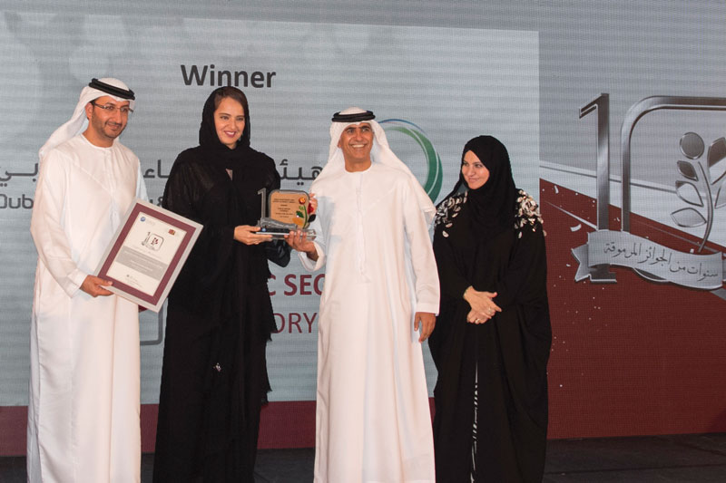 DEWA (Public Sector Category) Winner