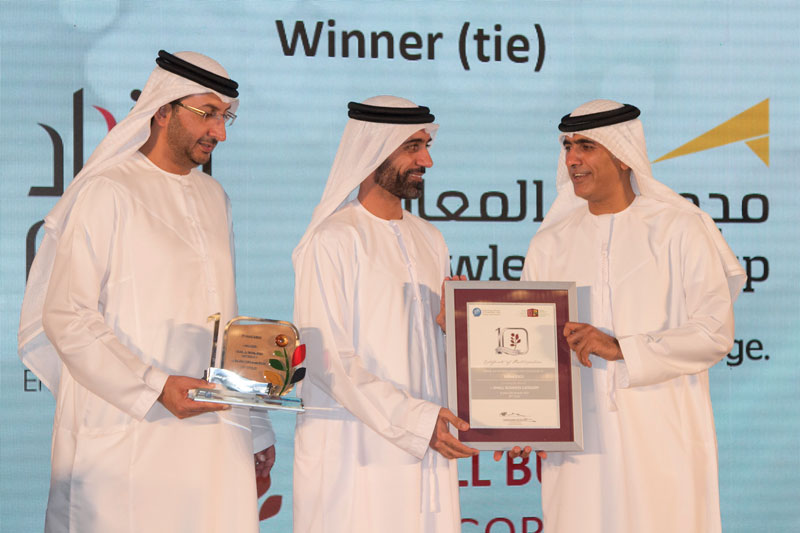 Etihad ESCO (Small Business Category) Winner