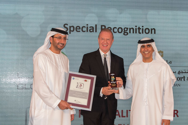 Gloria Hotel (Hospitality Sector) Special Recognition