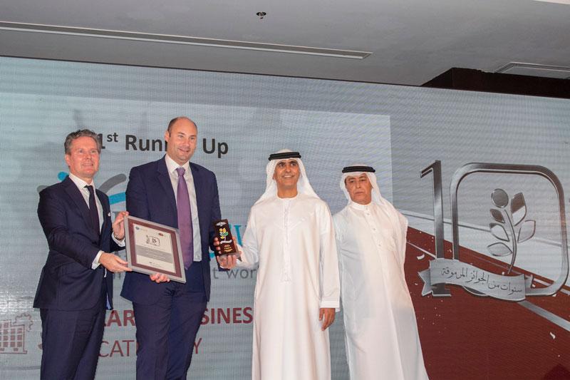 Interserve International (Large Business Category) 1st Runner Up
