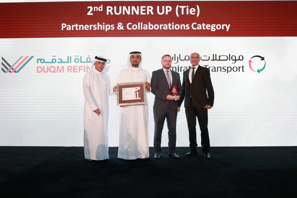 Partnerships & Collaborations (2nd Runner Up TIE) - Emirates Transport